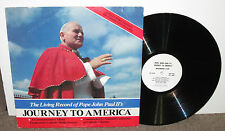 POPE JOHN PAUL II - Journey to America, original vinyl LP, 1979,VG+/VG, Catholic