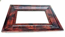 Antique American Empire Bath Mirror Federal Furniture Crotch Flame Mahogany 1825