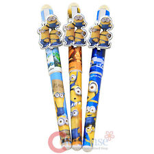 Despicable Me Minions 3pc Pen Set Black Ink Minions Stationery Office Supplies