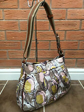 MARNI SATIN TWILL & VINYL COATED SHOULDER/TOTE BAG MADE IN ITALY RETAIL £490