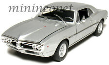 WELLY 22502 1967 67 PONTIAC FIREBIRD 1/24 DIECAST MODEL CAR SILVER