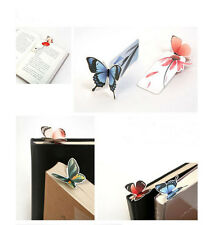 New 3D Butterfly Bookmarks For Beautiful Birthday Gift cute bookmark 1PCS GZ