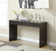 Console Tables For Entryway Narrow Sofa Espresso Accent Modern Display Home Wall
