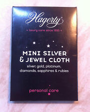 New - Genuine Hagerty Mini Silver & Jewel Cleaning Cloth