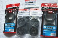 TAMIYA 1/10 RC CAR TIRE(53227)+WHEEL(53336)+foam INNER(53295) M2 Radial+wheel