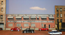 #240 N scale background building flat  R.C.A. RUBBER    *FREE SHIPPING*