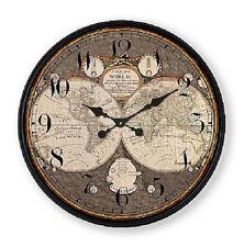 """Extra, Extra Extra Large Retro Shabby Chic Wall Clock 80cm Diameter (31"""" +) 6084"""
