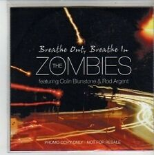 (CG347) The Zombies ft Colin Blunstone & Rod Argent, Breathe Out Breathe - DJ CD