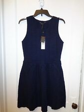 BCBG MAX AZRIA CYDNEY CABLE KNIT WOOL DRESS NEW SIZE M $238.00