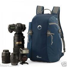 Blue Lowepro Flipside Sport 15L AW DSLR Camera Photo Daypack Backpack Bag