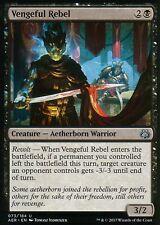4x Vengeful Rebel | NM/M | Aether Revolt | Magic MTG