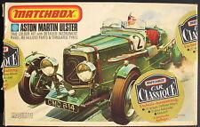 MATCHBOX pk-301 - Aston Martin Ulster + SPILLA + Oldtimer-ALBUM - 1:32 KIT