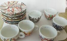 "VERY VERY RARE illy Art Collection 1995 ""The Italian Riviera Cups."""