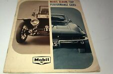1965 MOBIL Top Performance Cars Album with all Cards MUSTANG Porsche etc