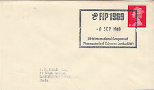 (33905) GB CLEARANCE Cover FIP Pharmaceutical Sciences London NW1 8 Sept 1969