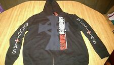 Boondock Saints Black Zip Up Hoodie NWT Size XL