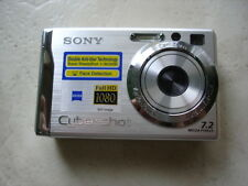 LikeNew SONY CyberShot DSC-W80 7MP Digital Camera Silver