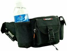 Fanny Pack Waist Bag with Water Bottle and Cell Phone Pouch 92-868 Blue