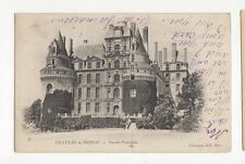 Chateau de Brissac 1902 Postcard France 0727
