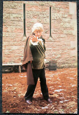 DOCTOR WHO POSTER . JON PERTWEE - THE TIME WARRIOR