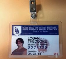 Bill &Ted's Excellent Adventure ID Badge - Theodore Logan  cosplay prop costume