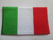Italy (Italian) Embroidered Patch,  iron or sew on. 80 x 48mm P019
