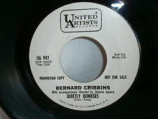 BERNARD CRIBBINS / JOHNNIE SPENCE Quietly bonkers / right said Fred UA 907