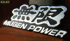 Mugen Power Chrome Deco Badge Brand New