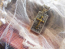 925 pltd urn  PRAYER WISH BOX LOCKET MEMORY MOMENTO SILVER Necklace WEDDING