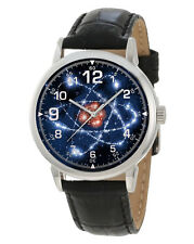 QUANTUM PHYSICS DEEP SPACE BLUE COLLECTIBLE SCIENCE ENTHUSIAST'S WRIST WATCH