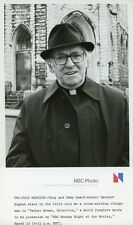 BARNARD HUGHES PORTRAIT FATHER BROWN DETECTIVE ORIGINAL 1979 NBC TV PHOTO