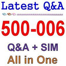 Cisco Best Practice Material For 500-006 Exam Q&A PDF+SIM