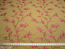 Braemore Embroidered Decorating Fabric HANGZHOU color petal ft162