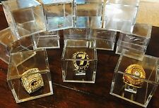 NEW Lot 11 Super Bowl World Series Championship Ring Display Case Stand Holder