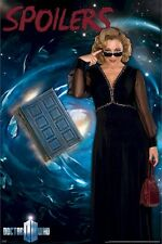 DOCTOR WHO ~ RIVER SONG SPOILERS 24x36 TV POSTER DR Alex Kingston Melody Pond