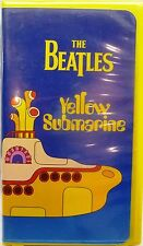 THE BEATLES YELLOW SUBMARINE-VHS TAPE-CLAMSHELL CASE