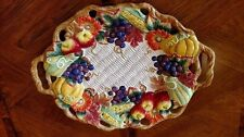 Fitz & Floyd Autumn Bounty Platter Fall Thanksgiving NEW in original Box