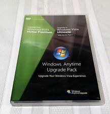Microsoft Windows Vista Anytime Upgrade Pack Home Premium To Ultimate