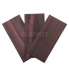3pcs Rosewood Guitar Head Veneer for Guitar Parts Accessories 8 x 3.7 inch