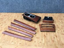 MERCEDES OEM W164 DASHBOARD DOOR PANEL CENTER CONSOLE WOOD TRIMS SET