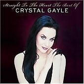CRYSTAL GAYLE - STRAIGHT TO THE HEART - The Best Of - 2CD