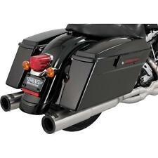 Vance And Hines Hi-Output Dual Exhaust System, Brushed, #26457, H-D Touring