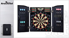 Arachnid E-Bristle 1000 Electronic Dartboard Plays Soft or Steel Darts