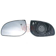 HYUNDAI I10 2011- 2013 DOOR/WING MIRROR GLASS SILVER, HEATED & BASE,LEFT SIDE