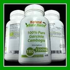 100% PURE Garcinia Cambogia 1500MG -3 MO SUPPLY-WEIGHT LOSS MIRACLE - FAT BURNER