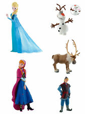 DISNEY BULLYLAND BULLY FROZEN SERIE COMPLETA 5 FIGURE COMPLET SET 5 PIECES