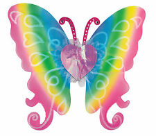 """Rainbow Fairy Butterfly Wings Cute Sexy womens Halloween Costume Accessory 21"""""""