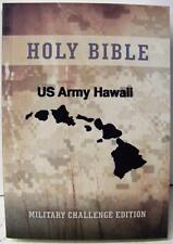 HOLY BIBLE US ARMY HAWAII MILITARY CHALLENGE  EDITION PAPERBACK POCKET SIZE NEW