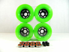 97mm Green Longboard Flywheels + ABEC 7 Bearing + Spacer