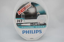 VAUXHALL CORSA AFL 2007-ON PHILIPS SET OF 2  X-TREME VISION H7 HEADLIGHT BULBS